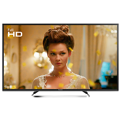 Panasonic 40ES503BSAT LED Full HD 1080p Smart TV, 40 With Freeview Play, Freesat HD & Adaptive Backlight Dimming, Black