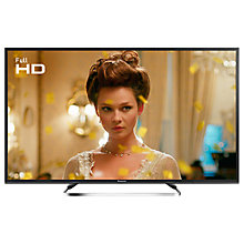 "Buy Panasonic 40ES503BSAT LED Full HD 1080p Smart TV, 40"" With Freeview Play, Freesat HD & Adaptive Backlight Dimming, Black Online at johnlewis.com"
