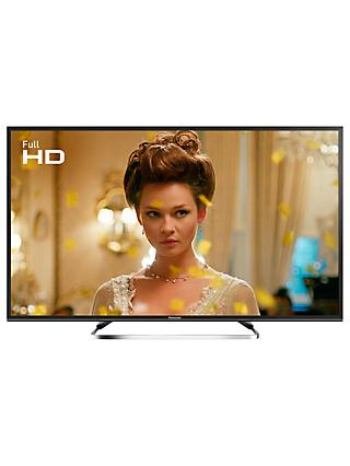 "Panasonic TX-40ES503BSAT LED Full HD 1080p Smart TV, 40"" With Freeview Play, Freesat HD & Adaptive Backlight Dimming, Black"