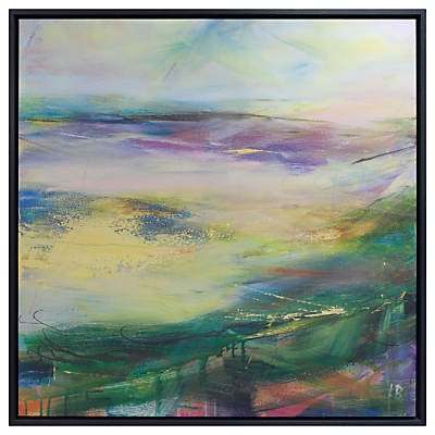 Lesley Birch – Soft Winds In Colour Framed Canvas, 90 x 90cm