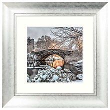 Buy John Anderson - Icon Of Central Park Framed Print, 53 x 53cm Online at johnlewis.com