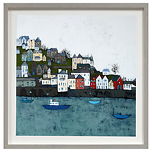 Buy Emma Brownjohn - White Sky Day Framed Print, 50 x 50cm Online at johnlewis.com
