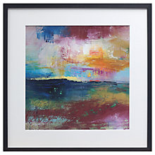 Buy Lesley Birch - Light Breaking Framed Canvas Print, 50 x 50cm Online at johnlewis.com