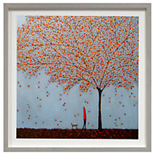 Buy Emma Brownjohn - Between The Leaves Framed Print, 50 x 50cm Online at johnlewis.com