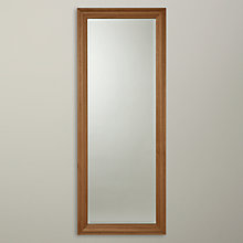 Buy John Lewis Classic Oak Wood Mirror, 134 x 53cm Online at johnlewis.com