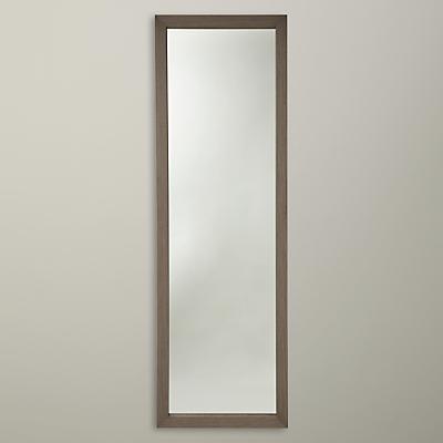 John Lewis Qube Wood Full Length Mirror, 147 x 47cm