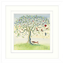 Buy Catherine Stephenson - The Escape Framed Print, 33 x 33cm Online at johnlewis.com