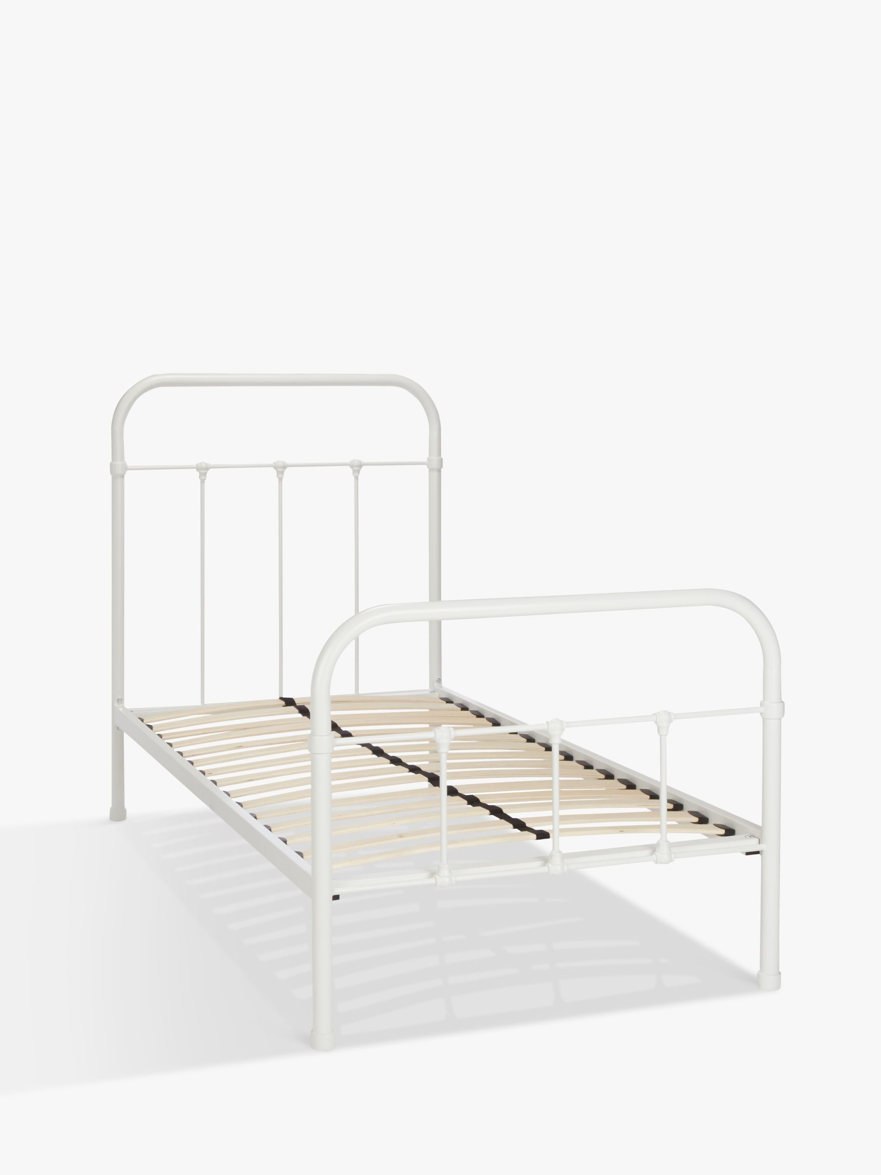Picture of: Little Home At John Lewis Botanist Child Compliant Metal Bed Frame Single At John Lewis Partners