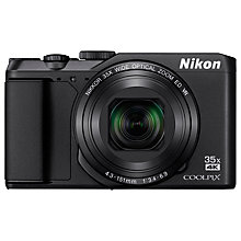 Buy Nikon COOLPIX A900 Digital Camera, Black and SanDisk Ultra 64GB SD Memory Card Online at johnlewis.com