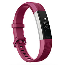 Buy Fitbit Alta HR Heart Rate and Fitness Tracker, Large Online at johnlewis.com