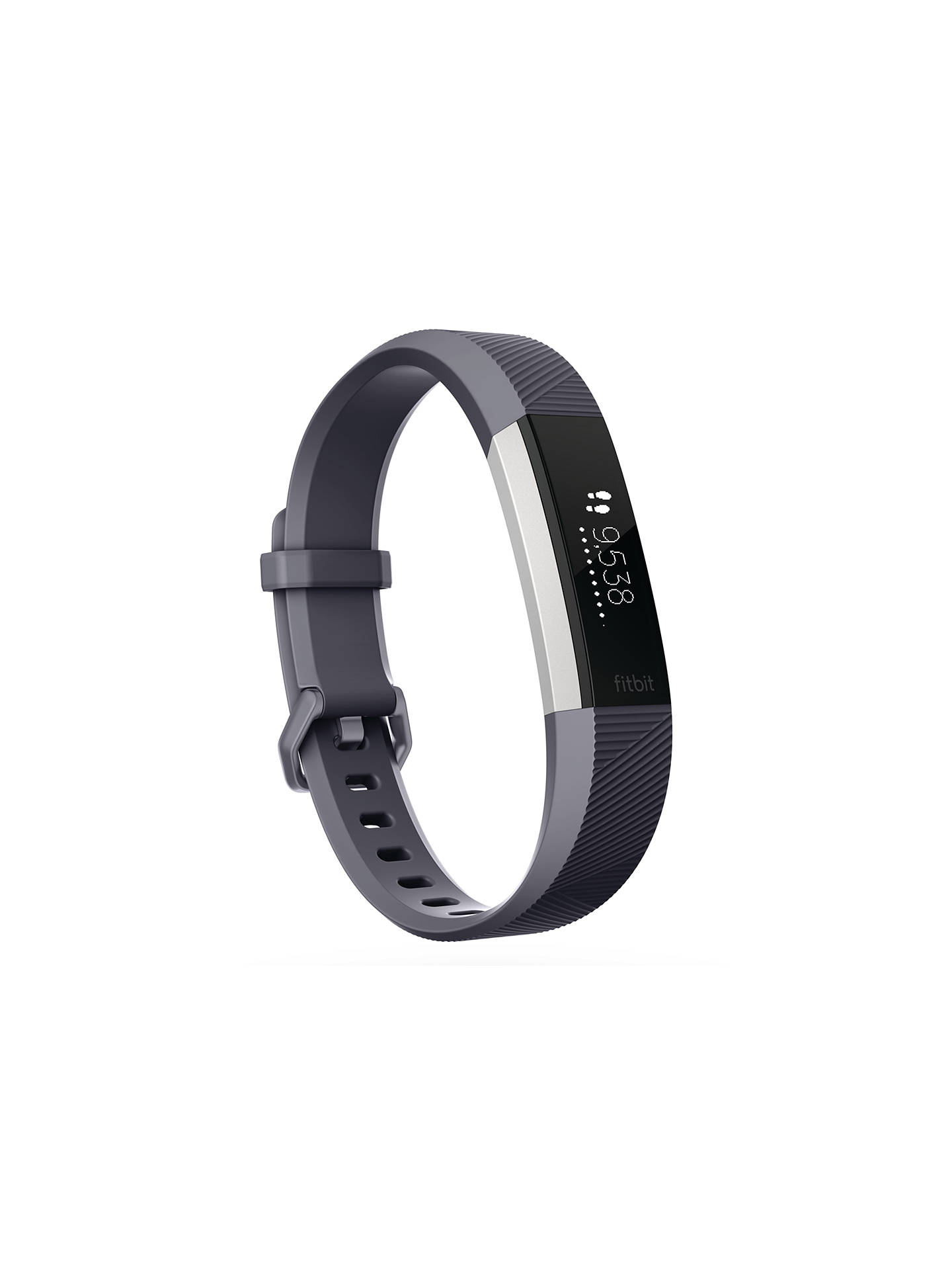 Buy Fitbit Alta HR Heart Rate and Fitness Tracker, Small, Grey Online at johnlewis.com