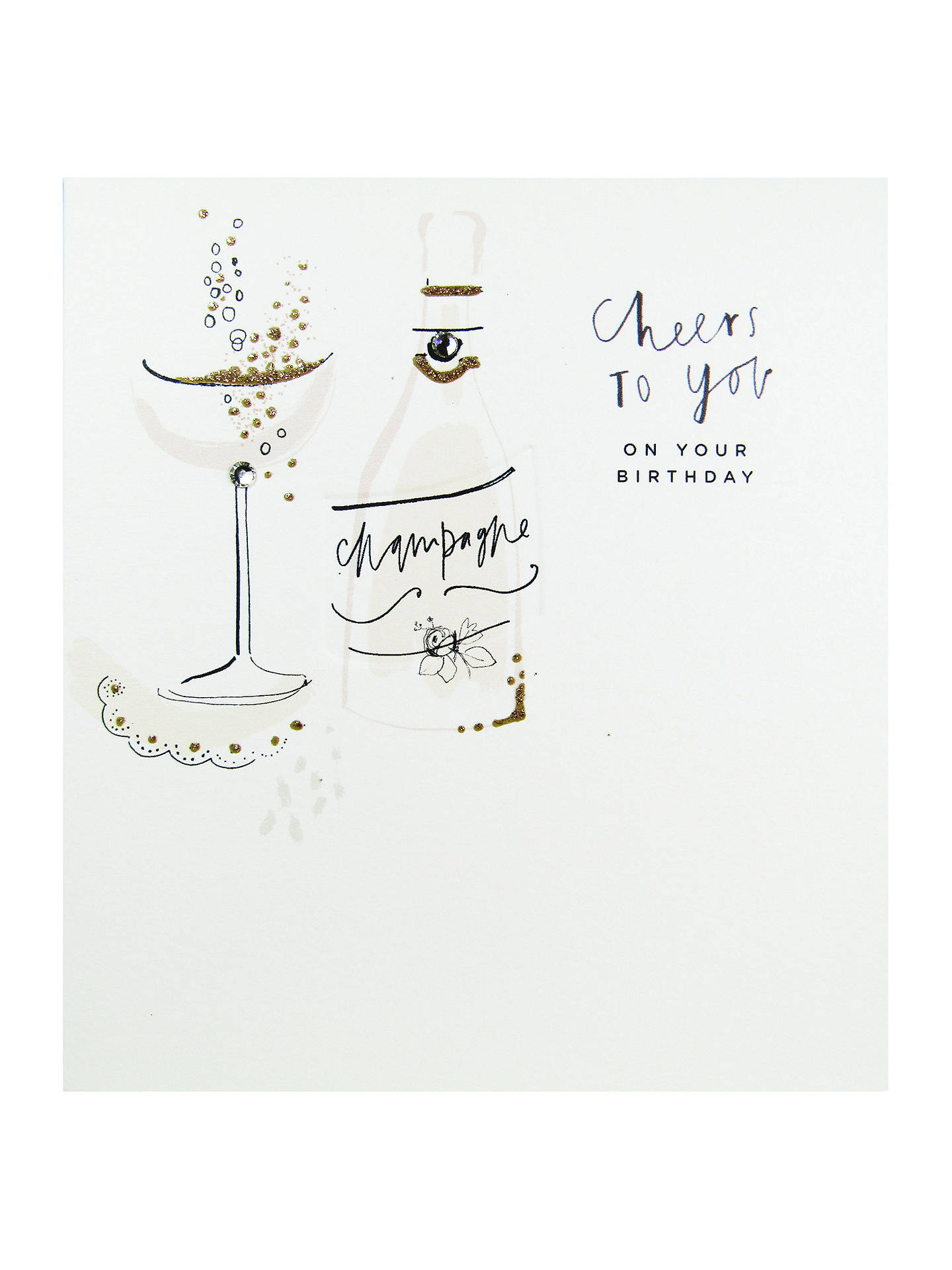 BuyThe Proper Mail Company Cheers To You Birthday Card Online At Johnlewis