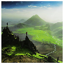Buy Woodmansterne Two Friends Mountains Birthday Card Online at johnlewis.com