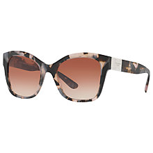 Buy Dolce & Gabbana DG4309 Square Sunglasses, Tortoise Online at johnlewis.com