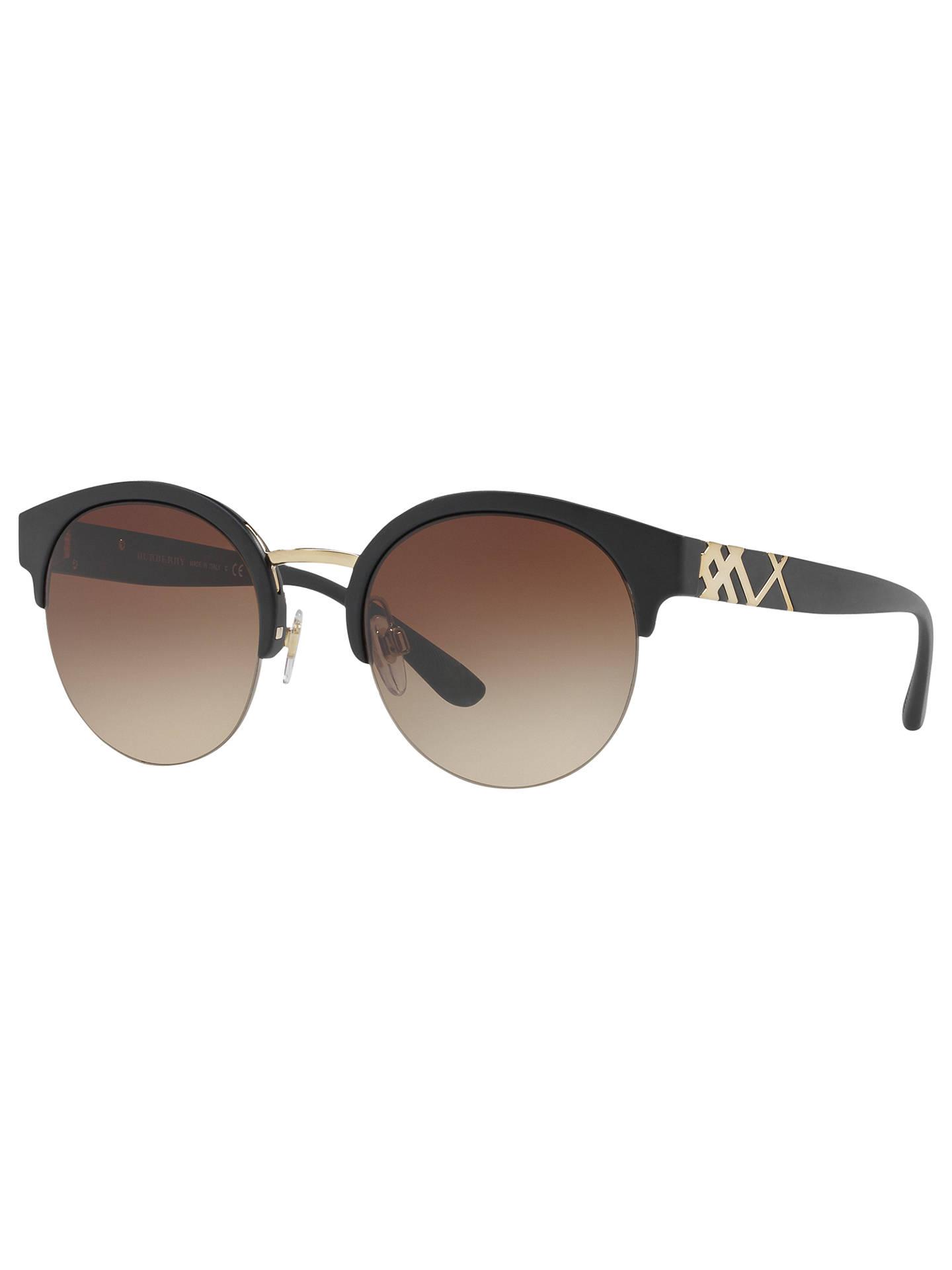 08cf6fd47b Burberry BE4241 Round Sunglasses at John Lewis   Partners
