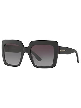 9ebfcea166ac Dolce   Gabbana DG4310 Oversize Square Sunglasses