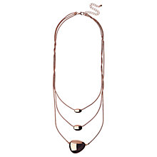 Buy Adele Marie 3 Row Bead Layered Necklace Online at johnlewis.com
