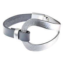 Buy Adele Marie Open Work Leather Bracelet Online at johnlewis.com