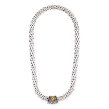 Buy Adele Marie Rope Chain Short Statement Necklace, Silver Online at johnlewis.com