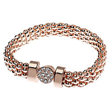 Buy Adele Marie Rope Pave Bracelet Online at johnlewis.com