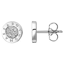 Buy Thomas Sabo Glam & Soul Classic Pave Stud Earrings, Silver Online at johnlewis.com