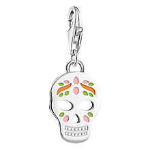 Buy Thomas Sabo Skull Charm, Silver Online at johnlewis.com