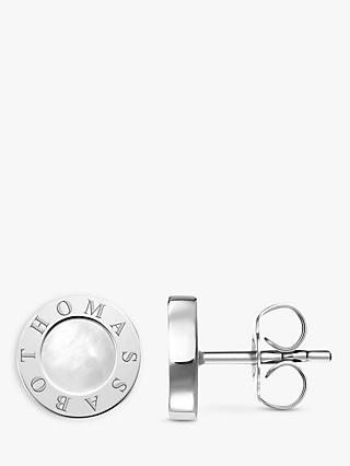 THOMAS SABO Glam & Soul Classic Stud Earrings, Silver