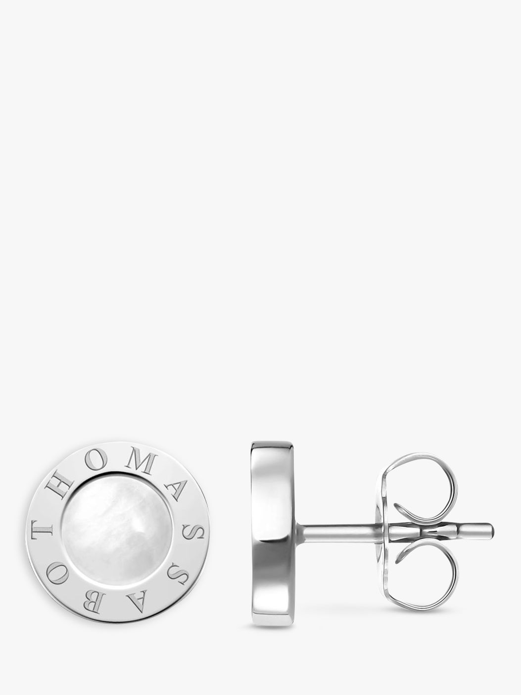Thomas Sabo THOMAS SABO Glam & Soul Classic Stud Earrings, Silver