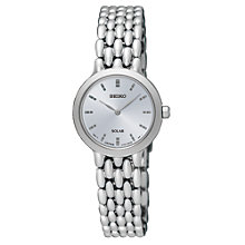 Buy Seiko Women's Solar Bracelet Strap Watch Online at johnlewis.com
