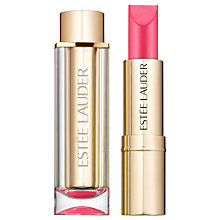 Buy Estée Lauder Pure Color Love Lipstick, Pearl Online at johnlewis.com