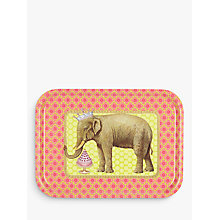 Buy John Lewis Claire Jordan Elephant Tray, Red Online at johnlewis.com