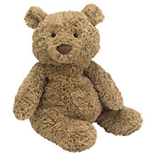 Buy Jellycat Bashful Bartholomew Bear Soft Toy, Medium Online at johnlewis.com