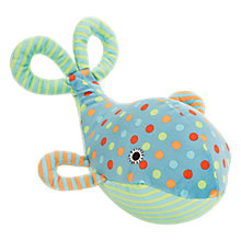 Buy Jellycat Baby Under the Sea Whale Soft Toy, One Size, Blue Online at johnlewis.com