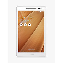"Buy ASUS Z380M ZenPad 8.0 Tablet, Android, Wi-Fi, 16GB, 8"" Online at johnlewis.com"