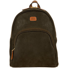 Buy Bric's Life Small Backpack, Olive Online at johnlewis.com