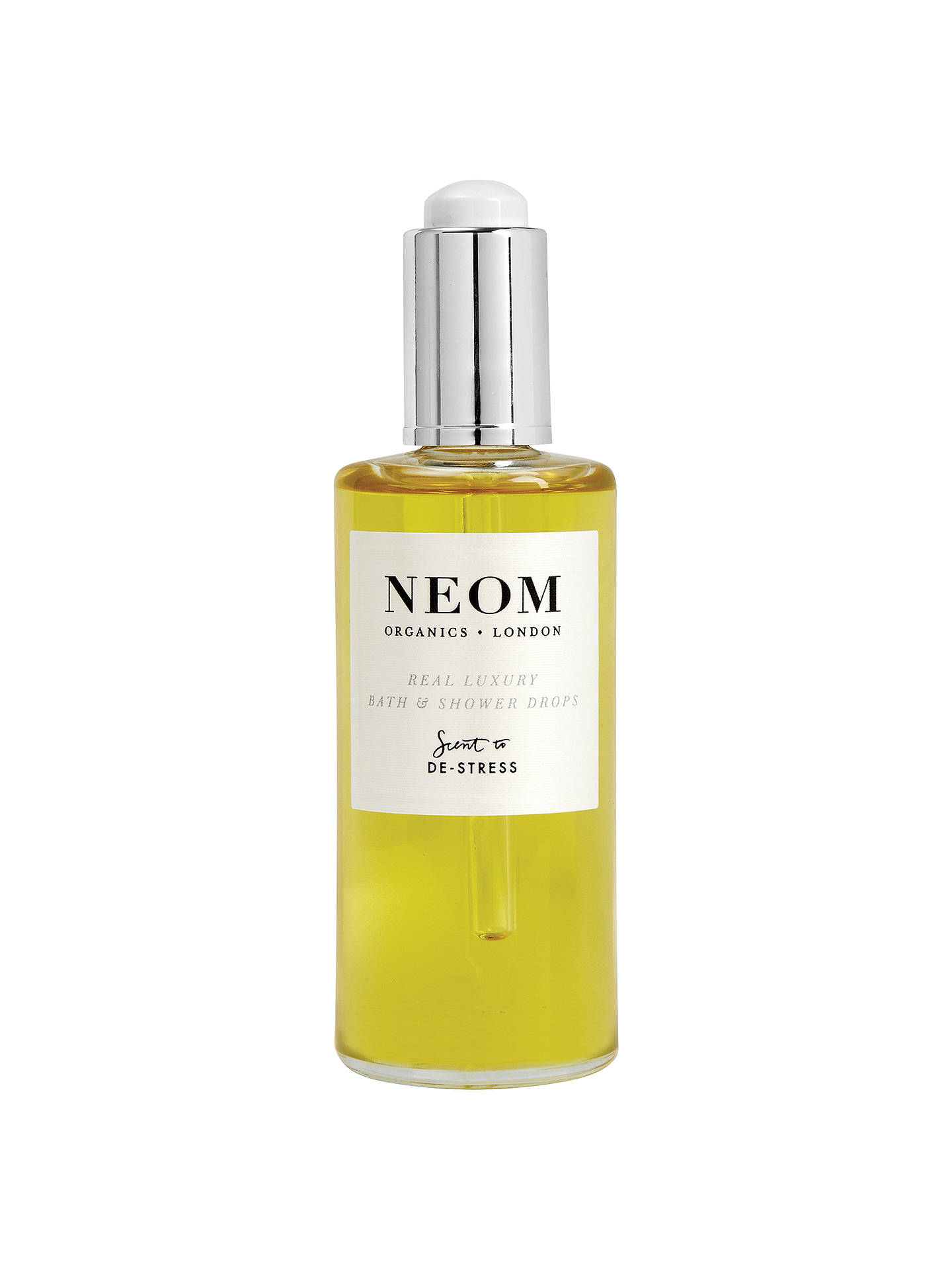 Buy Neom Organics London Real Luxury Bath & Shower Drops, 100ml Online at johnlewis.com