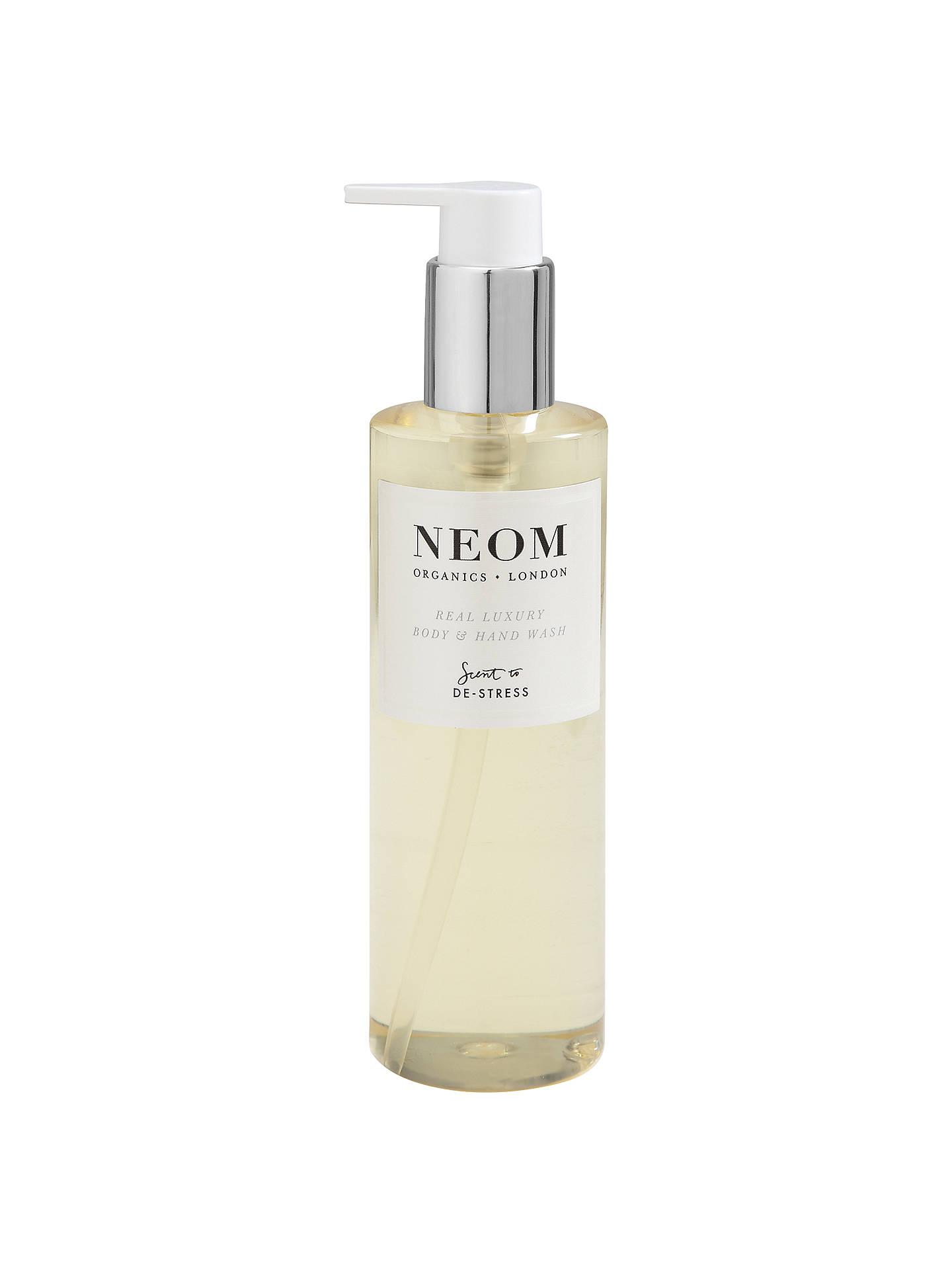 tak tanio odebrać sprzedaje Neom Organics London Real Luxury Body & Hand Wash, 250ml
