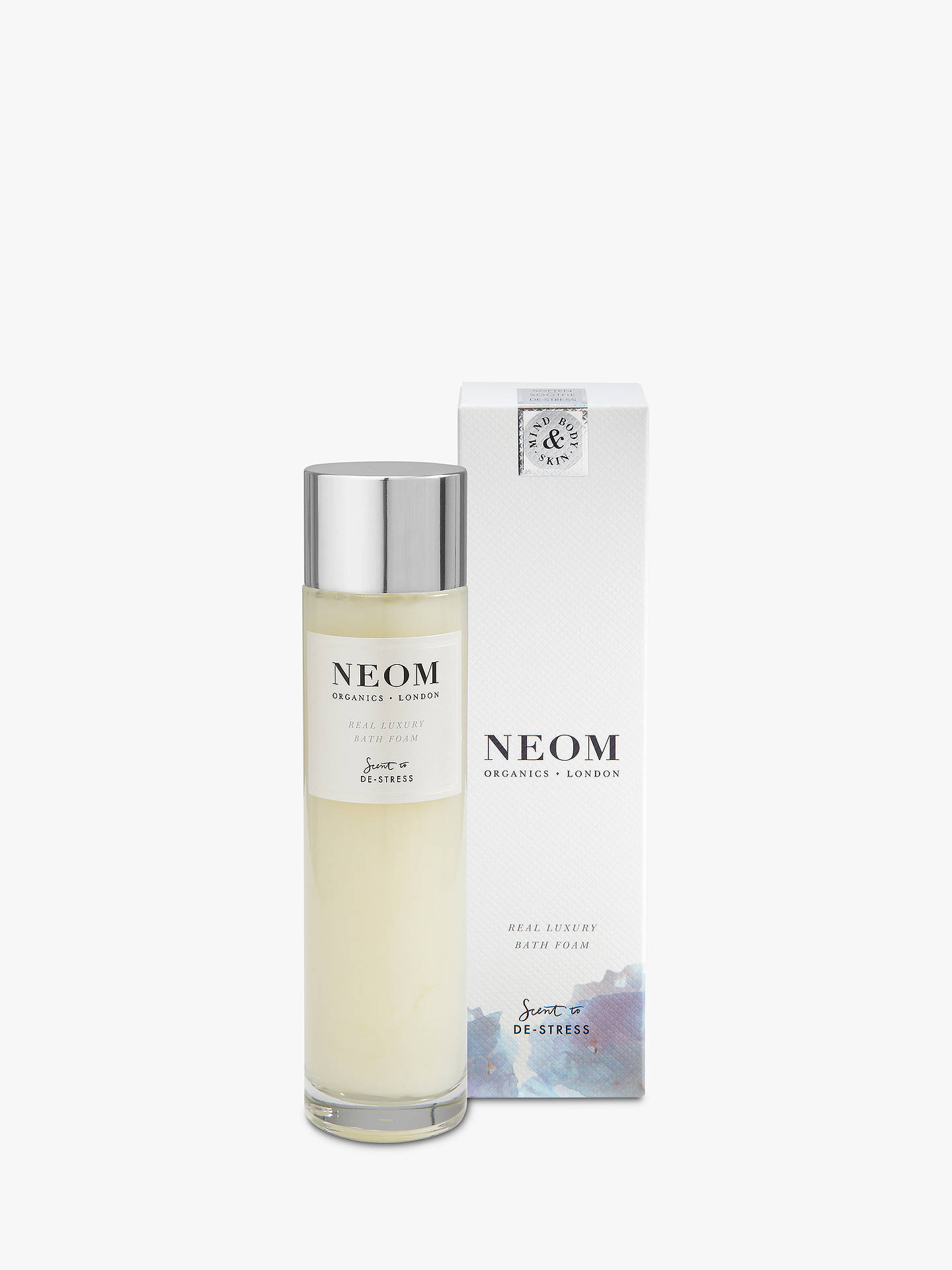 BuyNeom Organics London Real Luxury Bath Foam, 200ml Online at johnlewis.com
