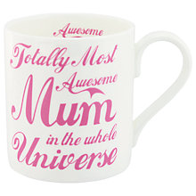 Buy McLaggan Smith Awesome Mum Mug Online at johnlewis.com