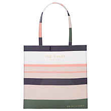 Buy Ted Baker Colour By Numbers Slate Shopper Bag, Multi Online at johnlewis.com