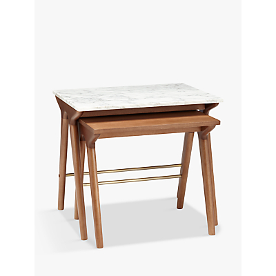 John Lewis Soren Nest of 2 Tables