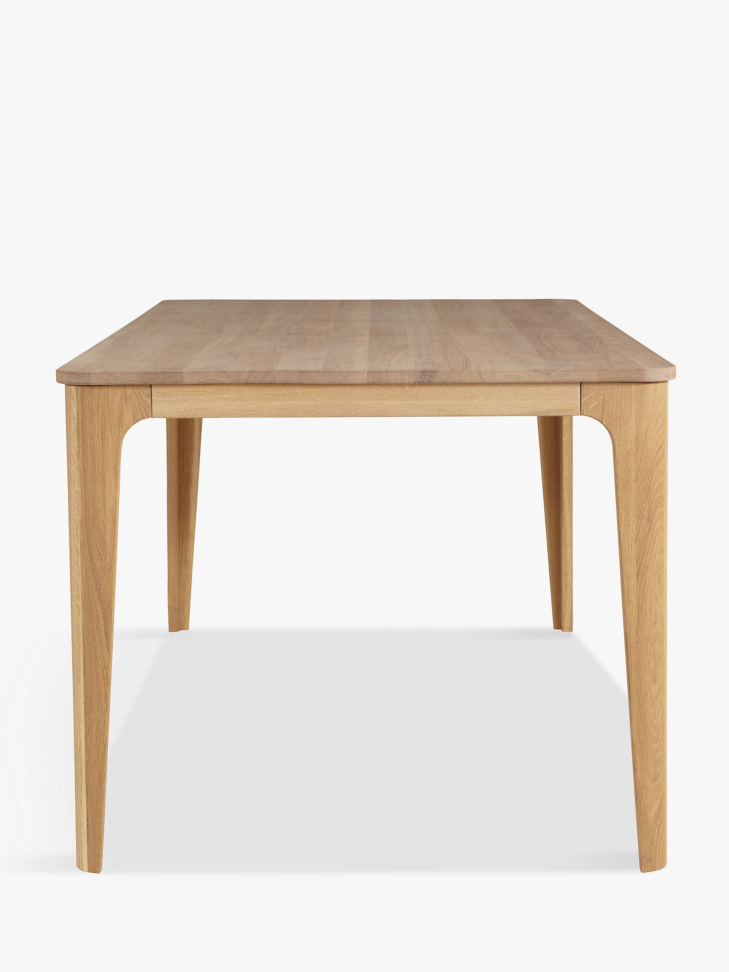 BuyEbbe Gehl for John Lewis Mira 6 Seater Dining Table, Oak Online at johnlewis.com