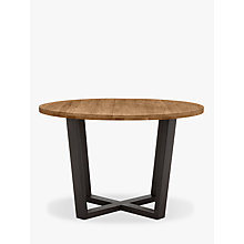 Buy John Lewis Calia Round 6 Seater Dining Table Online at johnlewis.com