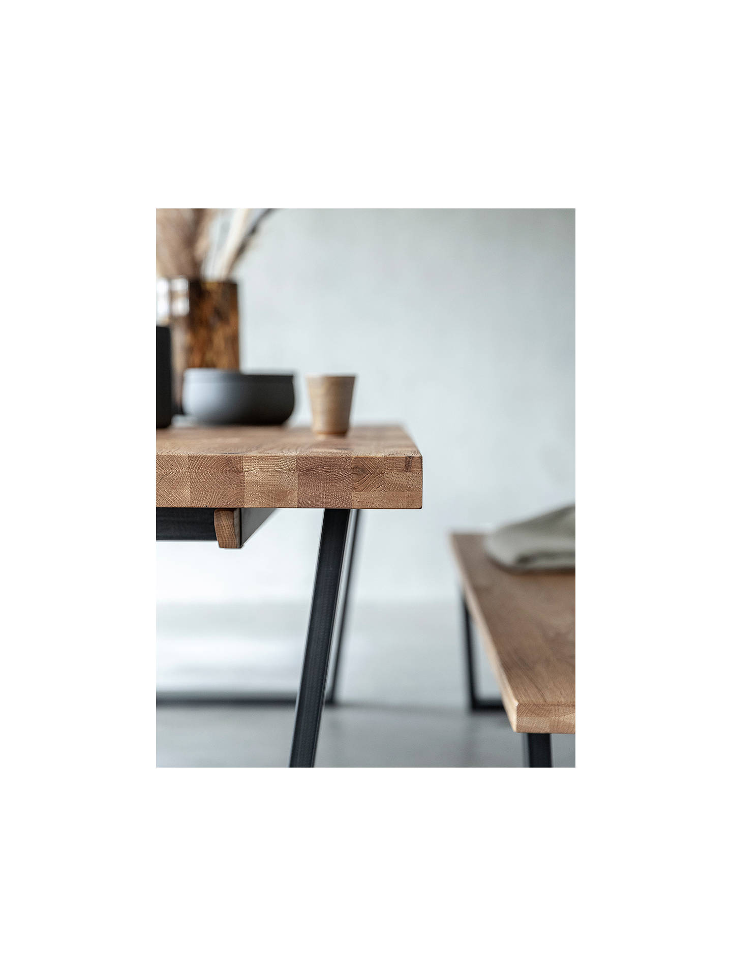 Buy John Lewis & Partners Calia 4 Seater Dining Table, Oak Online at johnlewis.com
