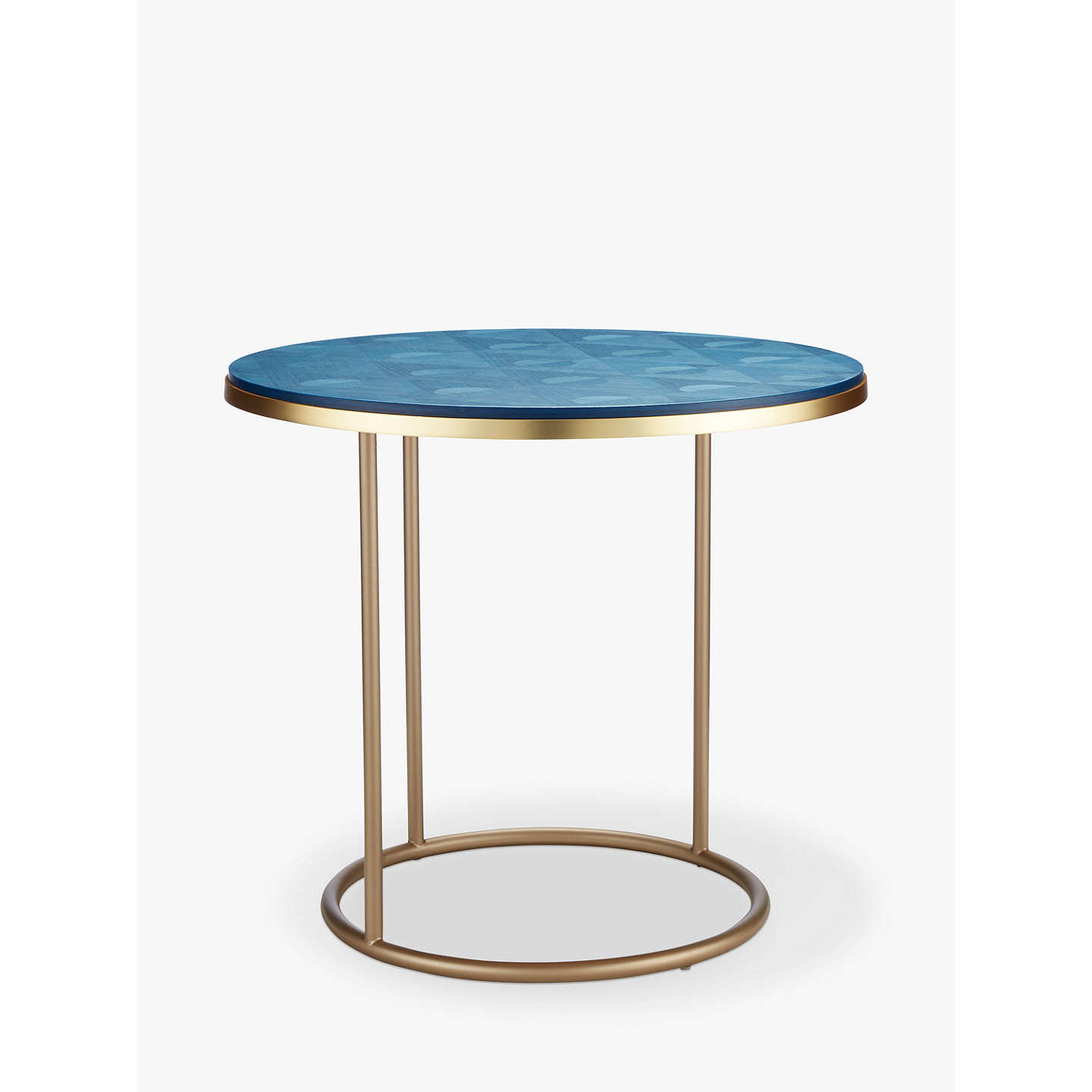 V A And John Lewis Jack Marquetry Side Table At Johnlewis