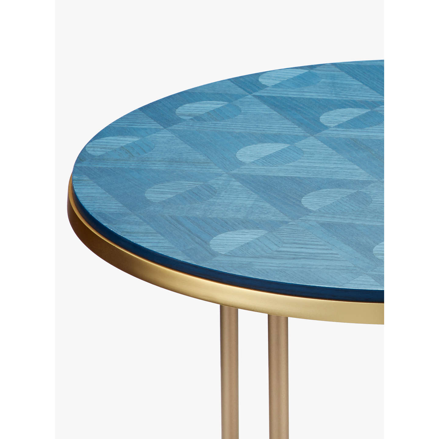 V A And John Lewis Jack Marquetry Side Table At Johnlewis Com