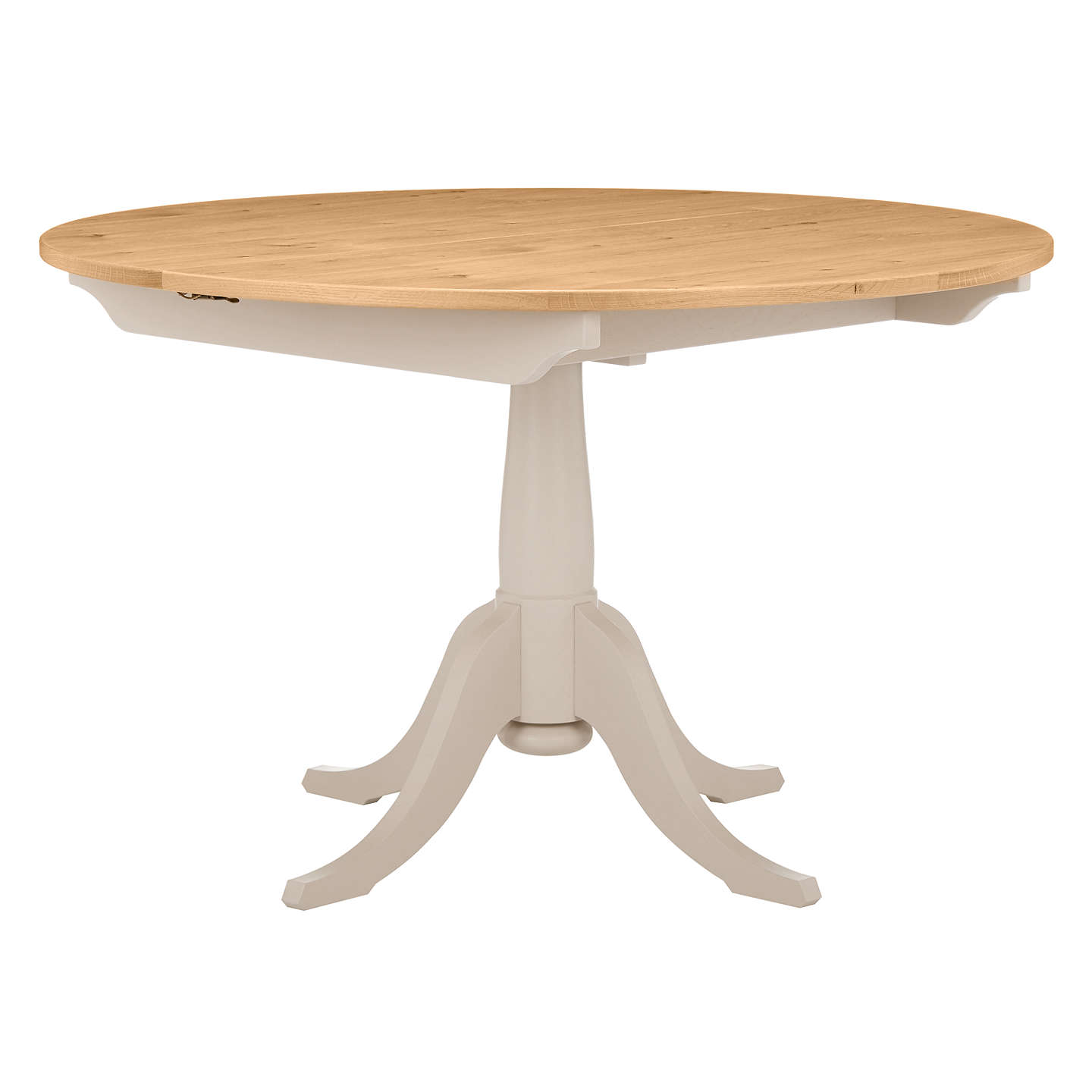 John Lewis Audley Round 4-6 Seater Extending Dining Table