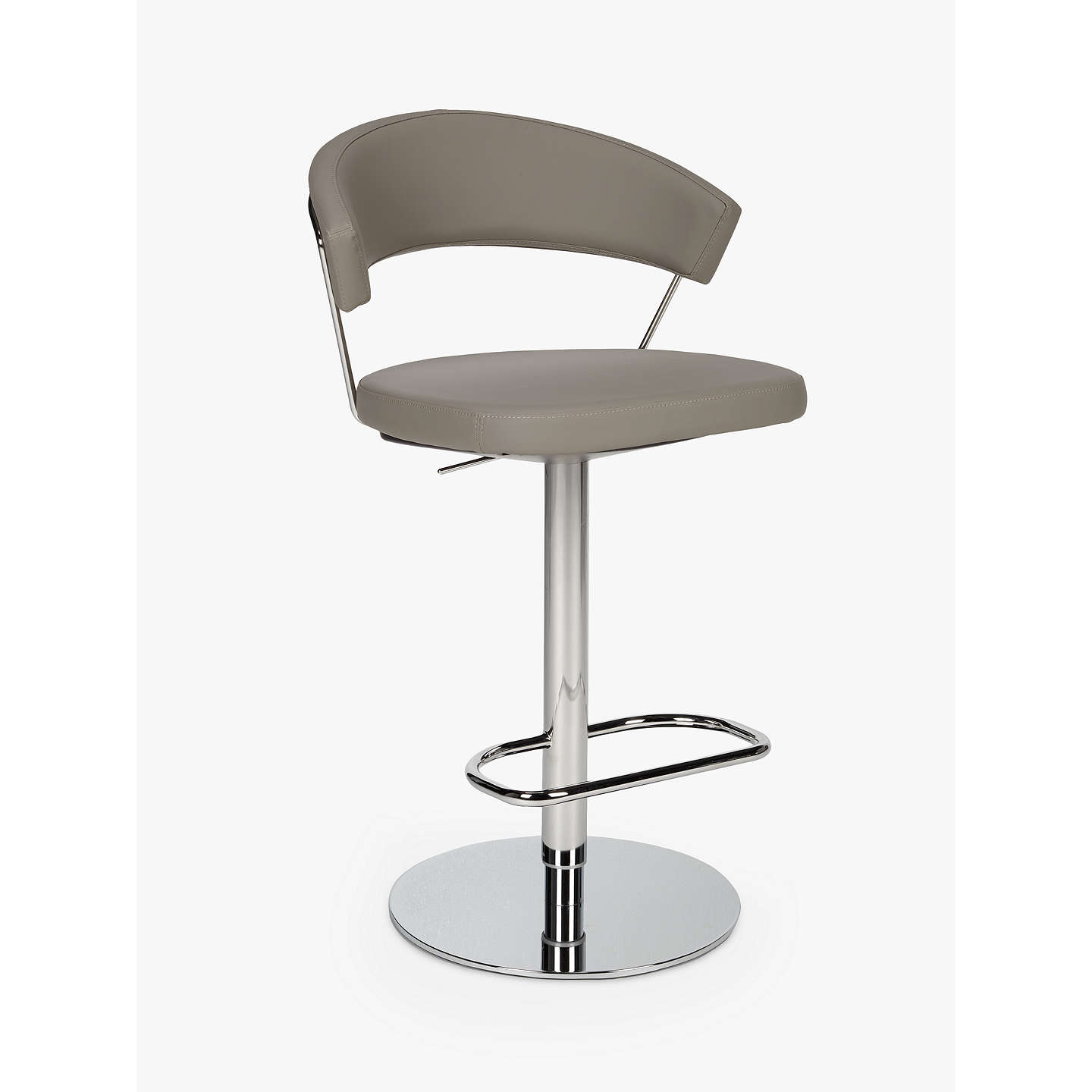 Connubia by Calligaris New York Adjustable Gas Lift Bar Chair at ...