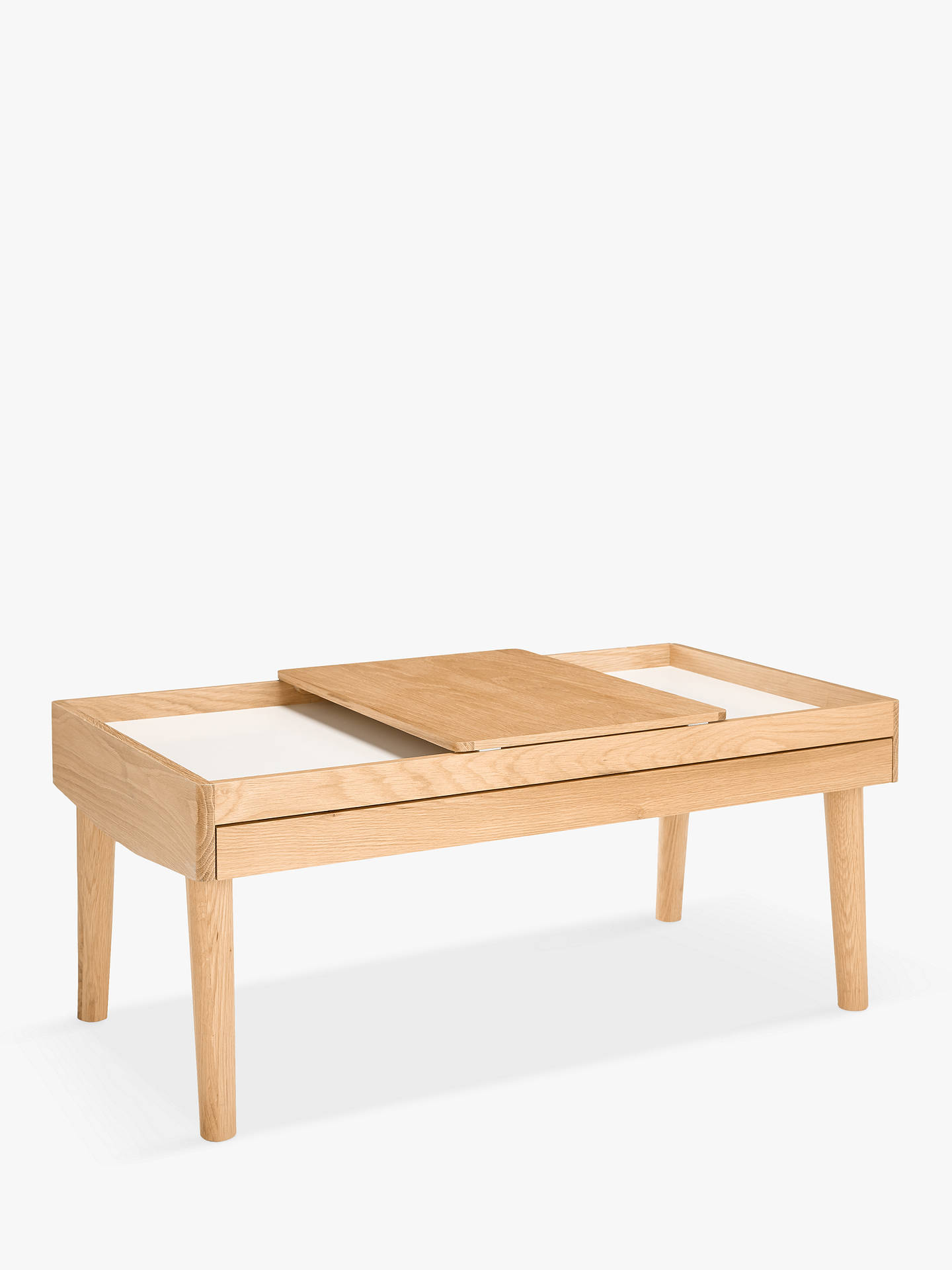 House By John Lewis Bow Storage Coffee Table At Johnlewis Com