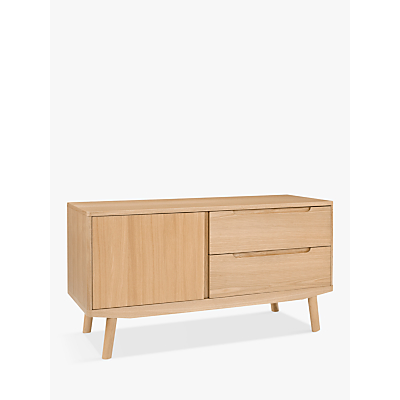 House by John Lewis Bow TV Stand Sideboard for TVs up to 49